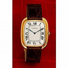 Cartier, Gondole, n° 970500505, vers 1978.    Une rare et belle mon