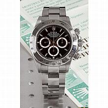 Rolex, Cosmograph Daytona,  Ref 16520, n°A139xxx, vendu le 21 juillet 1999.