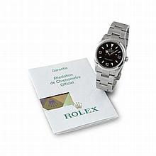 Rolex, Explorer I, Ref. 114270, n° Z40xxxx, vendue le 19 février 2007.