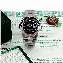 Rolex, GMT Master, Ref 16700, n° W690xxxx, 1995.
