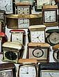 Various alarm clocks