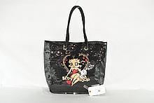 Stars Studios Betty Boop Sequined Large Handbag