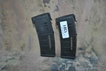 LOT OF 2 30 ROUND AR/M4 W PMAGS