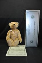 STEIFF TEDDY BEAR BARLE 35 PAB REPLICA 1905