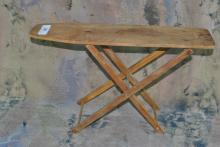 VINTAGE WOODEN DOLL IRON BOARD