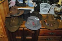 LOT OF 7 MISC VINTAGE MENS HATS