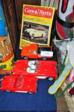 LOT OF VINTAGE COLLECTIBLE CARS