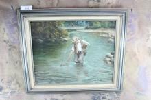 Oil Painting by Joe Ed Johnson 25x21
