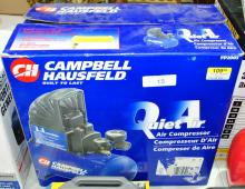 Campbell Hausfeld 2 gal quiet air compressor