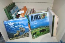 VERY LARGE LOT OF GREAT BOOKS ON RANCHING