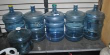 6 WATER BOTTLE JUGS