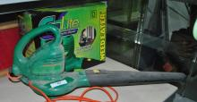 WEED EATER E-LITE ELECTRIC BLOWER