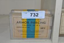 40 ROUNDS OF .30 M 2 ARMOR PIERCING