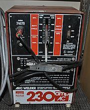 WARD POWR KRAFT 230 AMP AC ARC WELDER
