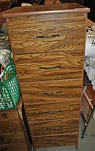 SOLID PINE FREE STANDING MINI DRESSER W/ 6 DRAWERS