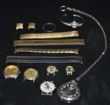 Lot of watches and parts