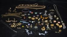 Large Lots of Vintage Costume Jewelry