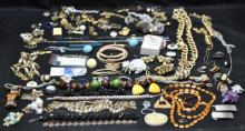 LG Lot of Costume Jewelry