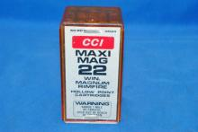 50 ROUNDS OF CCI MAXI MAG 22 WIN