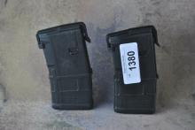 LOT OF 2 20 ROUND AR/M4 PMAGS