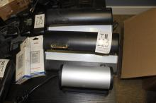 Lot of Ribao & Spectroline Model A-14VS counterfeit currency detection system