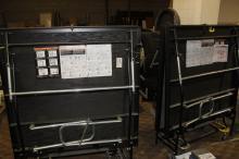 (2) Sico Mobile Folding Stage, Model SER2651999