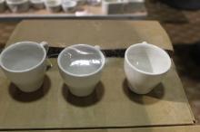 (5) Dozen Syracuse small coffee mugs