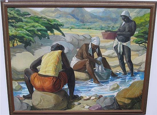 WATSON, BARRINGTON (jamaican, b .1931)