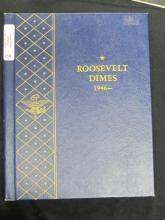 ROOSEVELT DIME COLLECTION 1946-1964 WITH EXTRAS