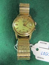 VULCAIN WATCH / ALARM W DATE WORKING /SMALL DENT
