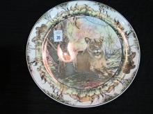 ROYAL DOULTON AFRICAN GAME PLATTER  13 IN DIAM