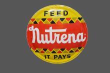 Nutrena Feed Sign/ Metal 42