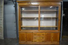 2-Piece Store Display Cabinet 96 1/2