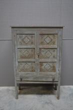 Painted Pie Safe 60 3/4
