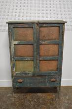 Painted Pie Safe 56