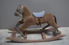 Early Child's Rocking Horse 31