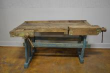 Painted Work Bench 35 1/2