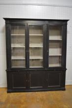Painted French Breakfront Cupboard 95