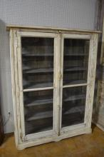 French Painted Cupboard 77 1/2