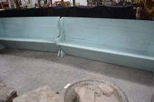 Painted Lift-Lid Bench X2 44