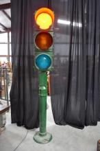 Traffic Light on Stand- Working 98 1/4