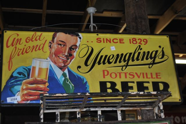 Beer Sign- Tin