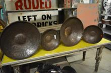 4pc. Metal Pan Lot