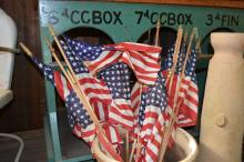 Lot of Vintage Flags