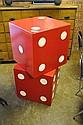 Red Die Box X2