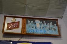 Lighted Schlitz Beer Sign 18 1/2