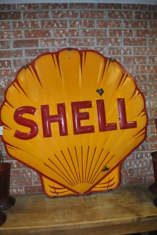 Shell Sign- Porcelain