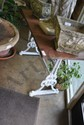 Iron Base French Garden Table