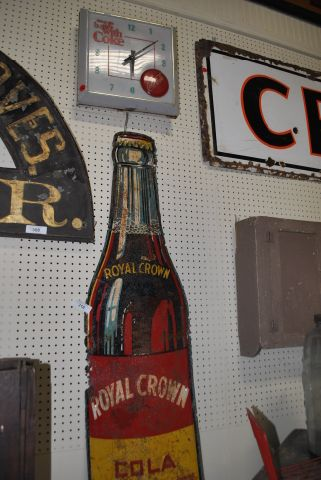 2pc. Lot- RC Cola Sign, Coke Clock