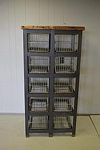 Industrial Basket Unit 64 1/2